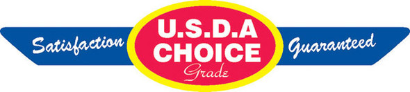 USDA Choice Corner Ribbon Label/10033