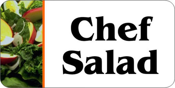 Chef Salad Flavor Label/10402