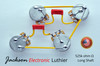 Les Paul ® Type Wiring Harness 50s Style Wiring Harness CTS 525k LONG 716P Orange Drop .022uF 400VDC Caps 5% Tolerance