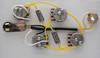 L5-S Gibson Wiring Harness 550k Centralab Spec Short Shaft .022uF Vitamin Q Caps