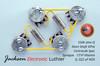 Les Paul Wiring Harness by JEL 550k VIPots Centralab Spec SHORT .022 uF Sprague 131P Vitamin Q PIO Capacitors