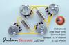 Les Paul Wiring Harness by JEL 550k VIPots Centralab Spec LONG.022 uF Sprague 131P Vitamin Q PIO Capacitors
