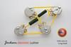 Les Paul Wiring Harness 525k LONG Shaft K42Y2 PIO NOS .015uF/.022uF
