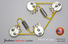 PRS SC ® Type Wiring Harness Kit CTS 525k Short Shaft Potentiometers .022 Vitamin Q Capacitors NOS