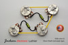 Jackson Electronic Luthier Les Paul Type Wiring Harness Kit 550 Centralab Spec Pots SHORT MKT ERO .022uF