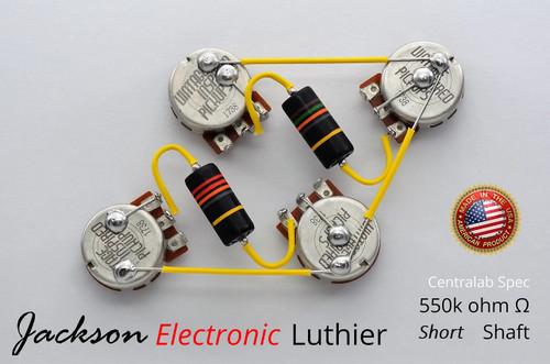 Spec SHORT Emerson Bumblebee Capacitors .015uF Neck .022 uF Bridge