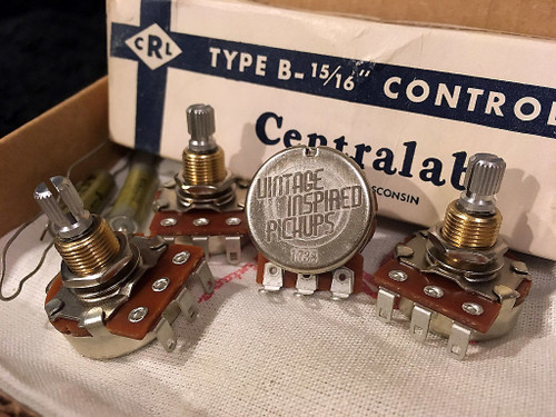 Centralab Specification Potentiometers