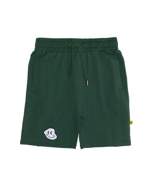 Happy Green Seam Front Short