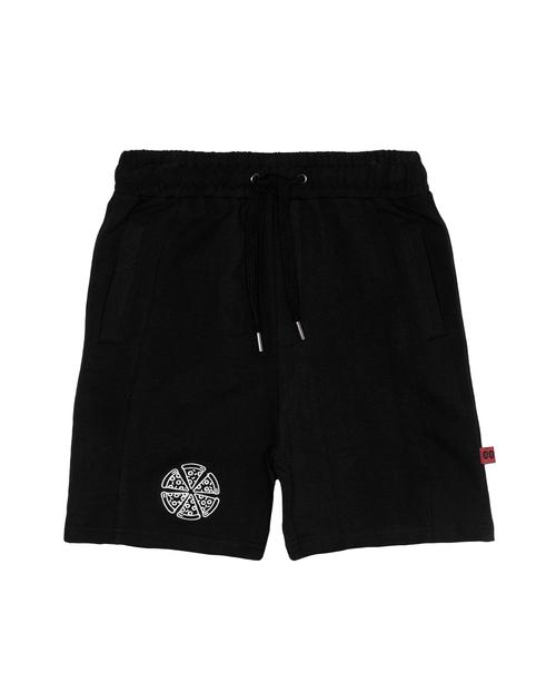 Pizza Icon Seam  Shorts - Kids
