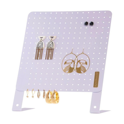Classic Earring Holder-Lilac