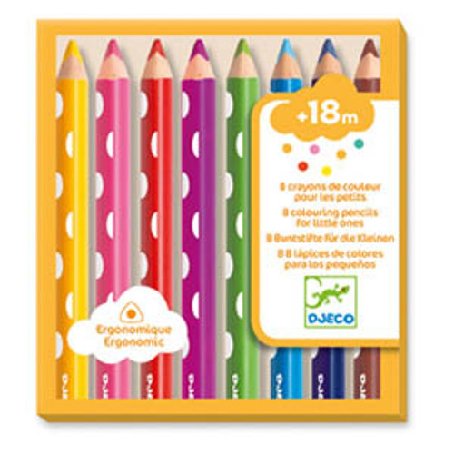 8 Little Ones Colour Pencil