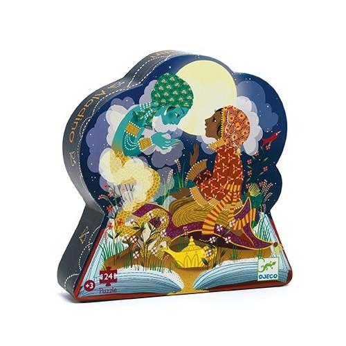 Aladdin 24 pc Silhouette Puzzle