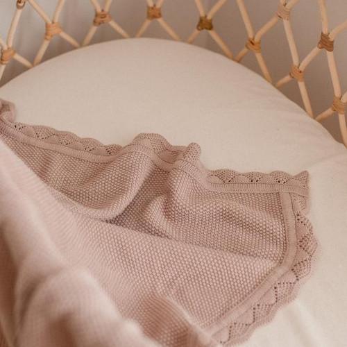 Heirloom Knit Blanket