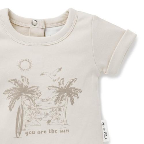 You are the Sun Print Tee