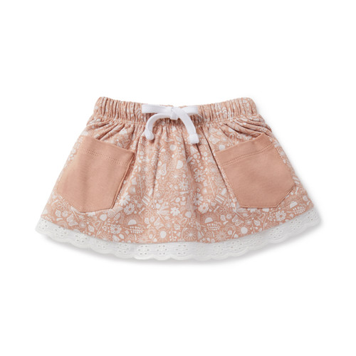 Ditzy Floral Pocket Skirt