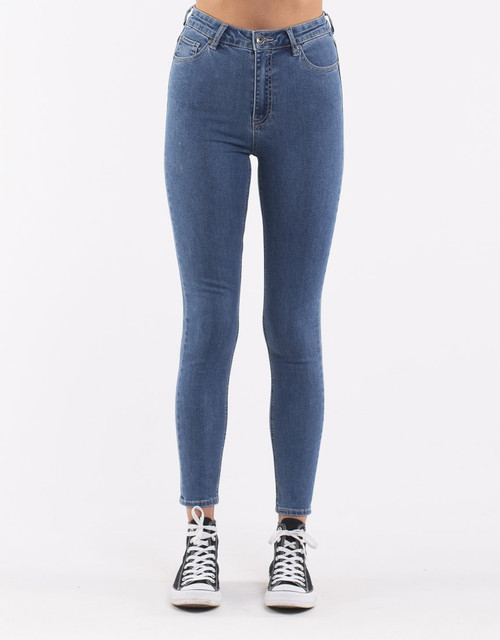 Vice High skinny Jean Bluebell