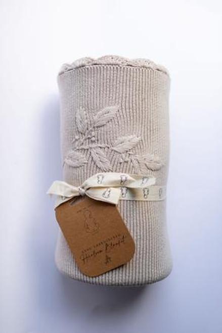 Heirloom Embroidered Blanket