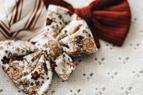Poinsettia Bow Tie