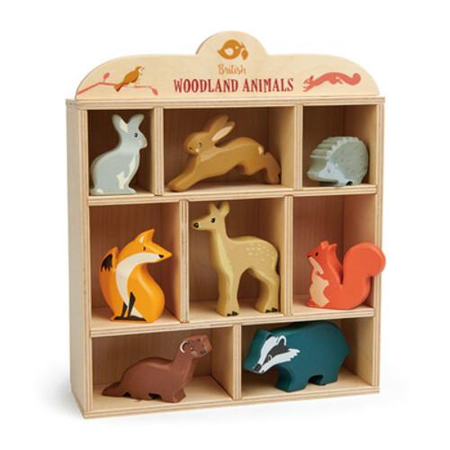 Woodlands Animals Display Shelf