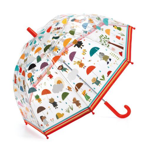 Under the Rain Child Umbrella