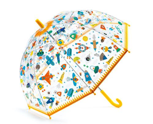 Space PVC Child Umbrella