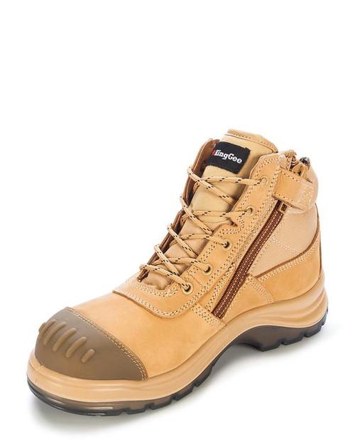 Tradie Side Zip Boot