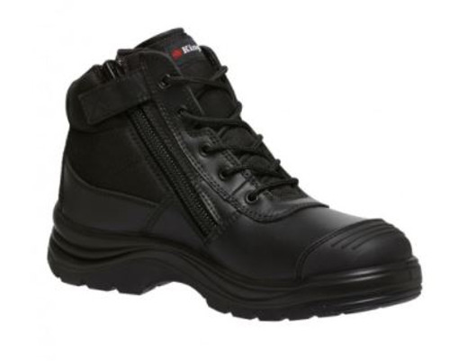 Men's Tradie Zip Boots- Blk