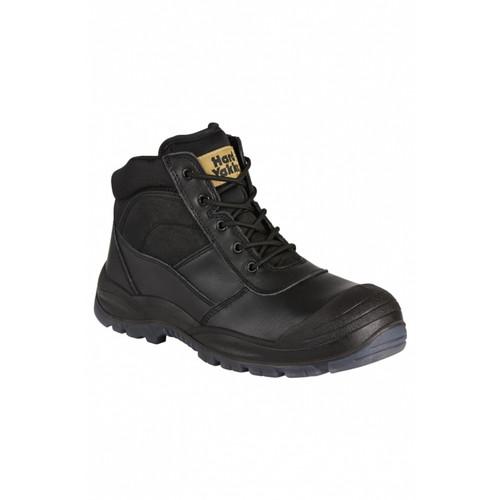 Utility Side Zip Boot -Black
