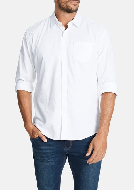 Sniders Casual Shirt - White