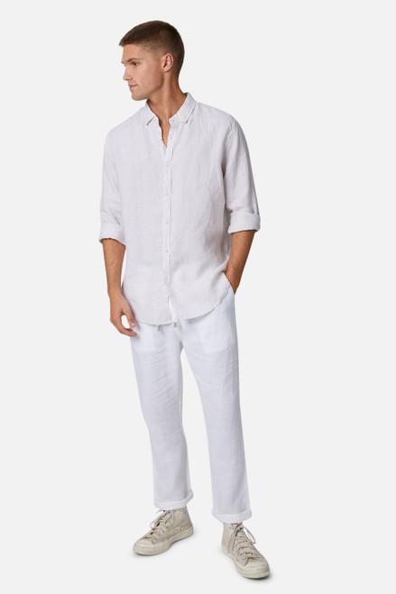 The Rochecroft L/S Shirt - Oatmeal