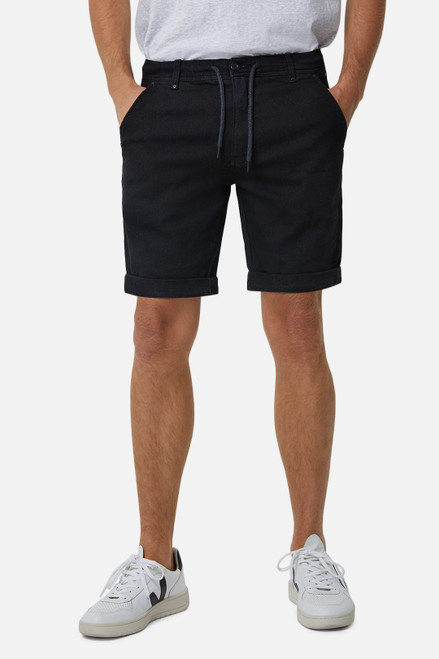 The Baller Drifter Short - Spray Black