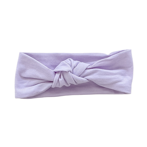 Lilac Bamboo Top Knot