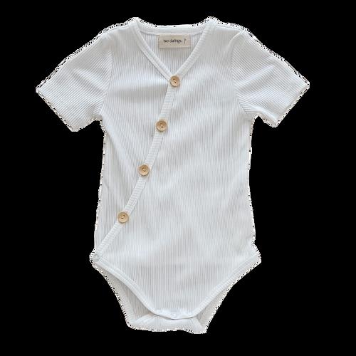 Milk Short Sleeve Bodysuit