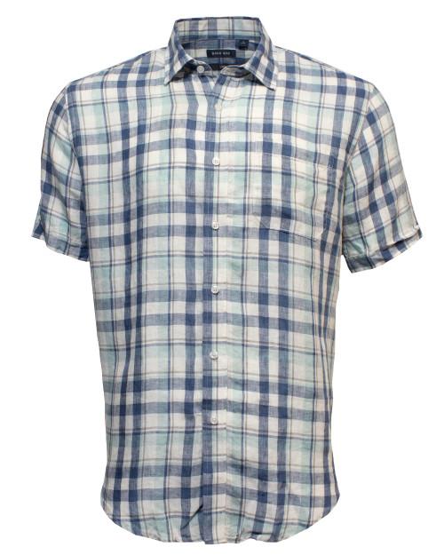 Linen Checked Shirt