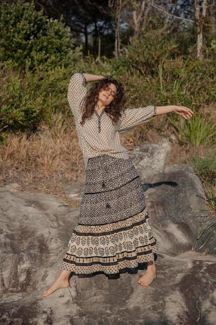Jacinta Frill Skirt in Marrakesh