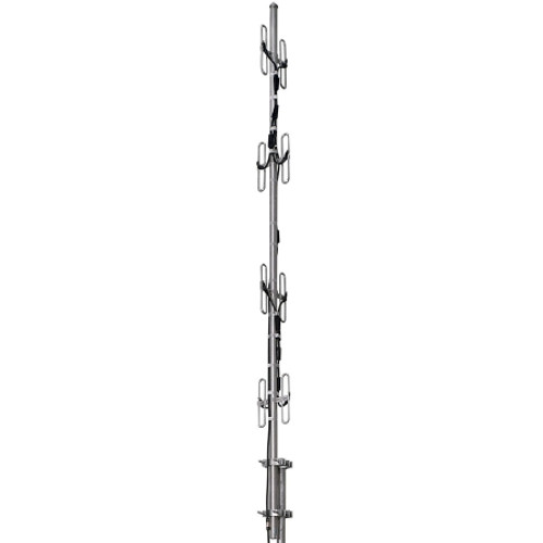 450-470 MHz 6.6/7.8dB Exposed Dipole Omni Antenna | CommTech, LLC