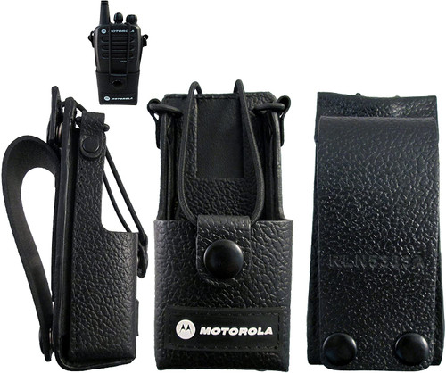 Leather Case with Belt Loop | CommTech, LLC