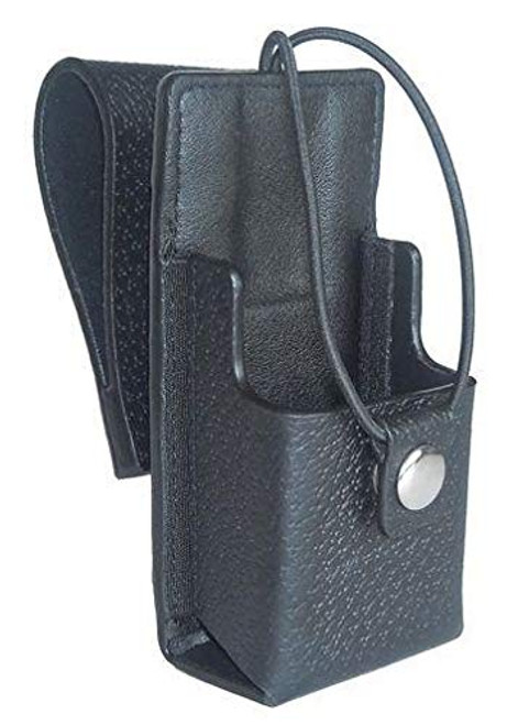 """Leather Case with 3"""" Swivel 