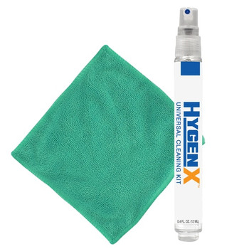 HygenX™ Universal Cleaning Kit – Travel-Size Spray and Towel