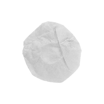 "HygenX™ Sanitary, Disposable 4.5"" Deluxe-Sized Ear Cushion Covers for Headphones and Headsets, Master Carton of 600 Pairs  – WHITE"