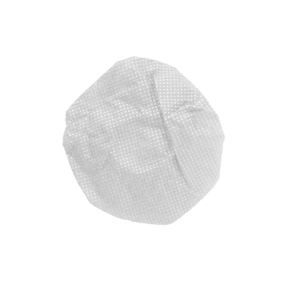 "HygenX Sanitary Ear Cushion Covers (4. 5"" White, Bulk Bag - 1,000 Pairs) - for Over-Ear Headphones & Headsets"