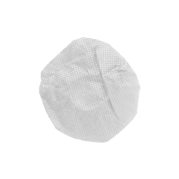 """HygenX™ Sanitary, Disposable Personal-Sized 2.5""""  Ear Cushion Covers for Headphones and Headsets, Master Carton of 600 Pairs – WHITE"""