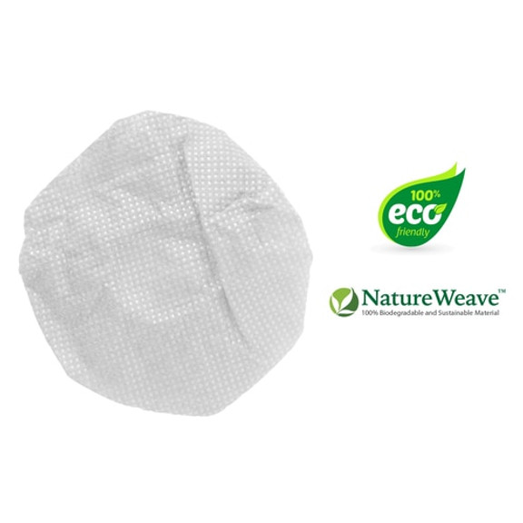 HygenX 100% Biodegradable NatureWeave Fiber, Sanitary, Disposable Microphone Covers - White - Box of 100