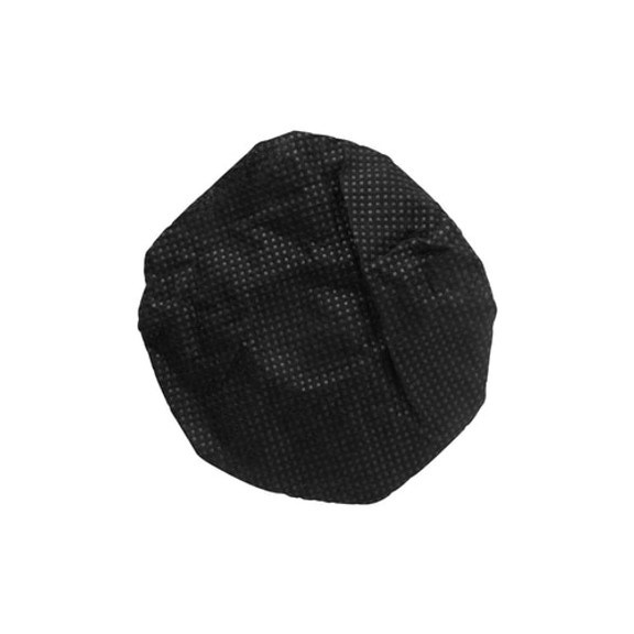 """HygenX Sanitary, Disposable Ear Cushion Covers (2.5"""" Black - 50 Pairs) - For On-Ear Headphones and Headsets"""