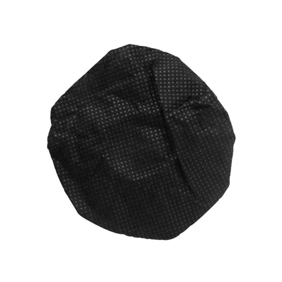 HygenX Sanitary Disposable Microphone Covers - Black, Box of 100