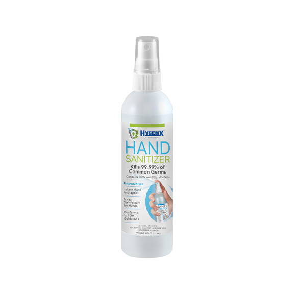Hand Sanitizer 8 oz. Bottle