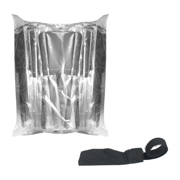 HygenX™ Sanitary Disposable  Gooseneck Microphone Covers with Velcro Strap – 100 covers