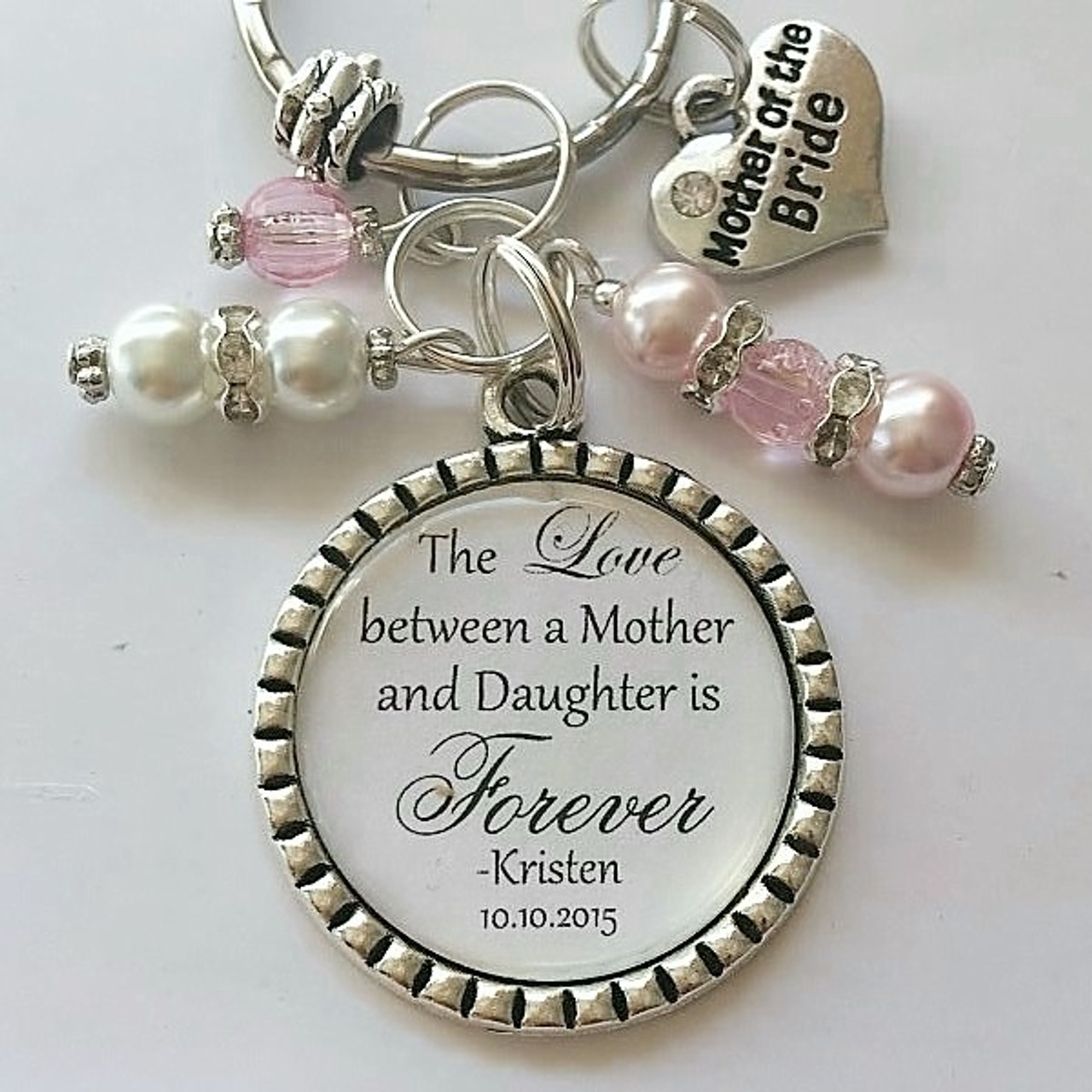 The Love Between A Mother Daughter Is Forever Keyring Cleopatra