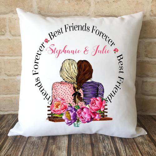 sale retailer 753de 472b1 Best Friends Forever BFF Cushion Cover
