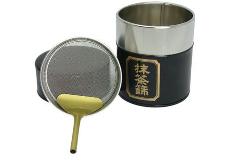 Matcha Strainer Tin | Dominion Tea